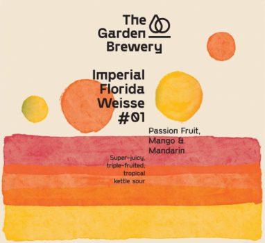 The Garden Brewery: Imperial Florida Weisse #01 – Passion Fruit, Mango & Mandarin / 花园酿造: 橙果果
